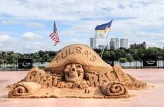 Tulsa Great Raft Race (clarkcg photography) Tags: sand sandarft sandcastles tulsa arkansasriver laborday greattulsaraftrace inspiremethursday