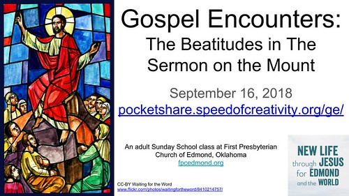 The Beatitudes: Jesus' Teaching of The S by Wesley Fryer, on Flickr