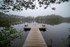 Pier (Kari Siren) Tags: pier lake heisanharju jaala finland kelesjärvi