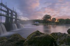 Brume, ombre et lumière (Yohann Hamonic) Tags: yohannhamonic yhamophotos blavet rivière morbihan bretagne sunrise sunset