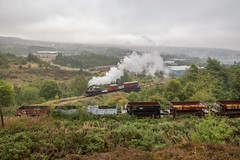 Taff Vale No' 85 on Goods approaching the colliery branch. (PaulBrysn) Tags: blaenavon wales unitedkingdom gb