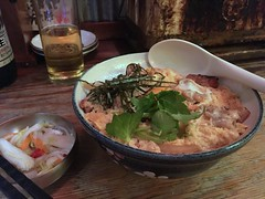 Oyakodon from Toribancho @ Ueno (Fuyuhiko) Tags: oyakodon from toribancho ueno 親子丼 丼 鳥番長 上野 東京 tokyo