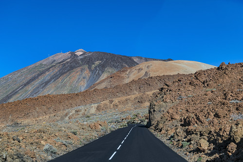 On the road to the Mount Teide (again)