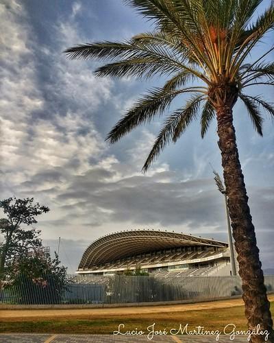 "Estadio de Atletismo Ciudad de Málaga. • <a style=""font-size:0.8em;"" href=""http://www.flickr.com/photos/26679841@N00/43922684034/"" target=""_blank"">View on Flickr</a>"