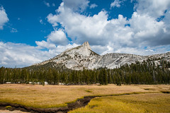 Cathedral Peak by Tuolumne Meadows