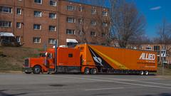 Peterbilt 379 (NoVa Truck & Transport Photos) Tags: peterbilt 379 big bunk condo sleeper allied van lines norcal moving services