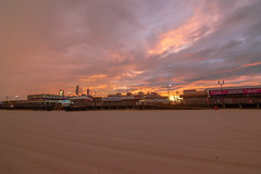 Seaside Heights Sunset (seanbeebe_photo) Tags: sunset newjersey nj seasideheights beach