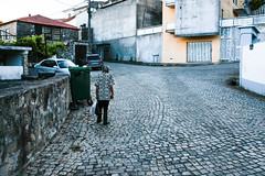 Blending In (tyrellblack87) Tags: moledo portugal street streetphotography road cobble house colour fujifilm fuji fujix100t patterns travel explore