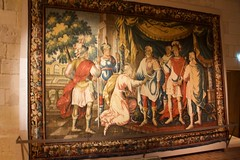 Tapestry in the royal quarters (Val in Sydney) Tags: chino france indreetloire