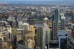 View From Centrepoint Tower, Sydney, September 13th 2014 (Southsea_Matt) Tags: australia newsouthwales september 2014 spring canon 60d centrepoint sydneytower view sydneyairport sydneycentral