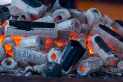 Embers on a huge barbecue at Gamescom 2018 (marcoverch) Tags: e3 cologne deutschland kölnmesse messe fusball zocken games germany computerspiele gamescom cosplay 2018 köln gaming flame flamme coal kohle charcoal holzkohle heat hitze smoke rauch fuel treibstoff noperson keineperson ash asche firewood brennholz burn brennen industry industrie hot heis fireplace kamin danger achtung burnt verbrannt iron eisen campfire lagerfeuer fish fisch energy energie wood holz analog colours candid pentax golden kids eos coffee retrato mer embers huge barbecue gamescom2018