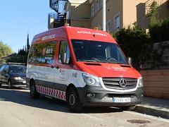 Ambulancia Falck K-160 a su llegada a Mallorca (Emergencias Mallorca) Tags: 112 061 062 080 085 091 092 emergencias ambulancias bomberos policia guardiacivil