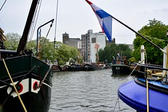 Sail Leiden 2018 – View of the Zijlsingel and former flour mill (Michiel2005) Tags: zijlsingel meelfabriek schepen schip boat boot boats boten ships ship sailleiden2018 sailleiden leiden nederland netherlands holland