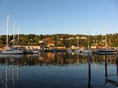 henån (helena.e) Tags: helenae henån båt boat älsa husbil motorhome ställplats water vatten explore reflection sunset solnedgång