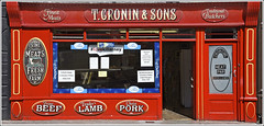 T. Cronin & Sons, Traditional Butchers (Runemaker) Tags: door window butcher shop shopfront storefront red killarney countykerry kerry ireland