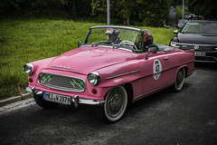 Saxony Classic 2018  (classic car rallye): Team VW Dresden - SKODA Felicia 1961 (Peter's HDR hobby pictures) Tags: petershdrstudio classiccar car skoda classiccarrallye saxonyclassic2018 sachsenclassic2018 auto oldtimer
