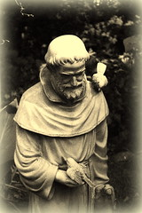 St. Francis & friends (SquireRoss) Tags: stfrancis sculpture saints carvings
