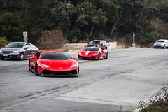 Lamborghini Huracan LP610-4 (Hunter J. G. Frim Photography) Tags: supercar monterey car week carweek lamborghini huracan lp6104 red rosso italian coupe v10 awd lamborghinihuracan lamborghinihuracanlp6104