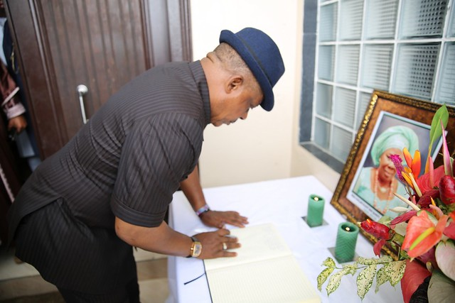 HSDickson- Condolence visit to HIS Excellency by PDP National ChairmanAC. 24th August 2018