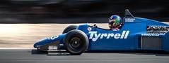 1985 Tyrrell 012-6 @ Laguna Seca 2018 (Dennis Schrader Photography) Tags: 2018 california racecar dennisschraderphotography historic d500 cars nikon car monterey unitedstates us tyrrell f1 formula 1