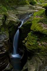 Robinson Falls (ramseybuckeye) Tags: robinson falls boch hollow state nature preserve ohio hocking hills blackhand sandstone water waterfalls rock pentax life