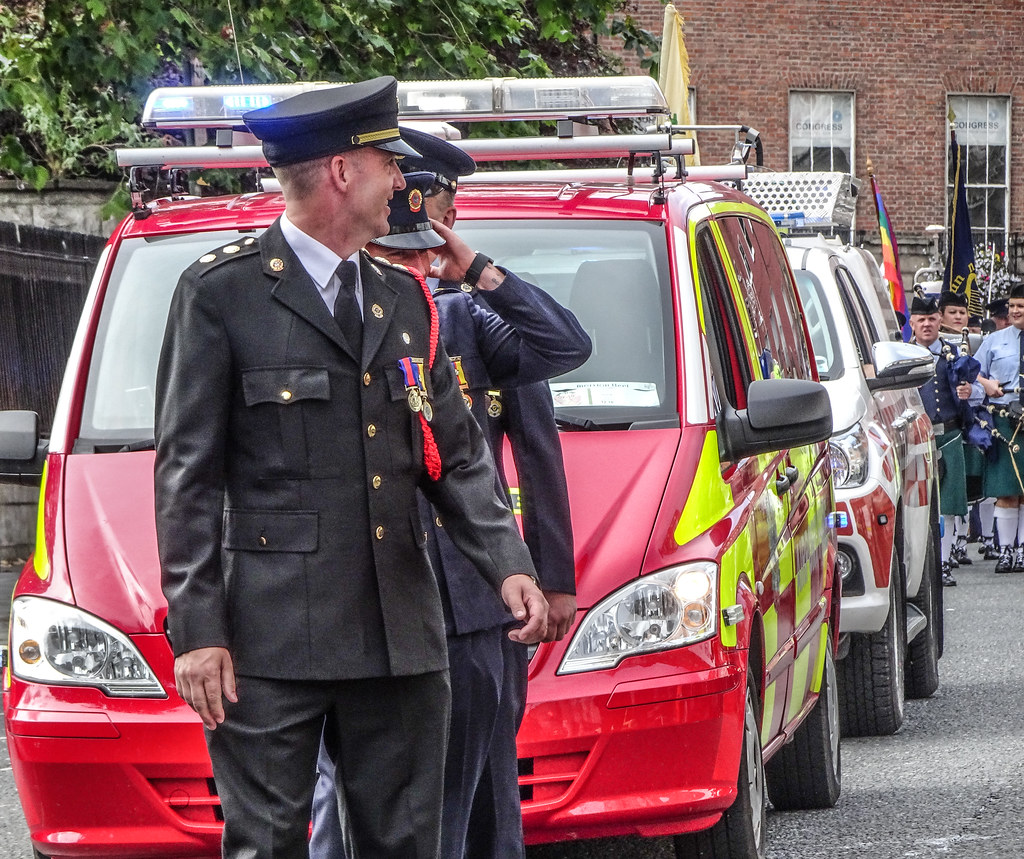 NATIONAL SERVICES DAY [PARADE STARTED OFF FROM NORTH PARNELL SQUARE]-143656