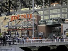 AT&T Park: Home of San Francisco Giants (Greatest Paka Photography) Tags: baseball sport park sanfrancisco ballpark giants home stadium entry gate ballplayer attpark leftyodoul bridge chinabasin mccoveycove sanfranciscogiants