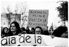 -- (Matías Brëa) Tags: manifestación manifestation mujeres woman blancoynegro blackandwhite byn bw bnw documentalismo documentary social palabras