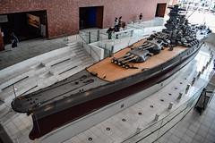 Battleship Yamato (nikousen94) Tags: kure maritime museum yamato world war 2 pacific naval hiroshima japan model large scale battleship