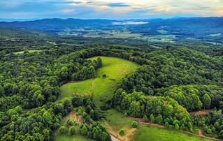 The valley, Northeast Tennessee