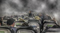 Do NOT Panic! (Free Range Photos) Tags: thechallengefactory planes panic smoke crash flying calm planecrash humor air airtraffic slidersunday hss