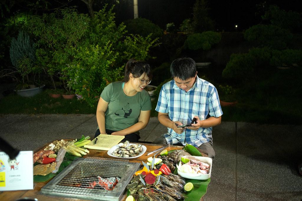最奢華的中秋烤肉組 海鮮大集合之 龍膽石斑、泰國蝦、蚵、大卷 |小農聯盟13