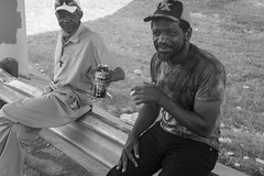 Dwayne and John (bogstomper73) Tags: leica texas fortworth homeless
