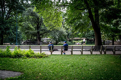 Morning in the Park (Phil Roeder) Tags: newyorkcity nyc leica leicax2 manhattan centralpark