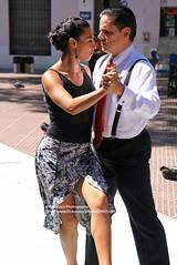 Buenos Aires, San Telmo, Plaza Dorrego, Tango (blauepics) Tags: argentina argentinien buenos aires capital hauptstadt street strase road argentinisch argentinian city stadt san telmo barrio quarter viertel plaza dorrego art kunst dance tanz tango man mann woman frau dancing tanzen style stil