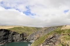Petite crique proximité Boscastle (PascalCDP) Tags: angleterre crique falaises cornwall cornouailles boscastle