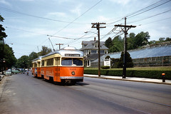 MTA PCC3102 TremontSt 5-25-1961cf (ironmike9) Tags: pcc streetcar tram trolley transit publictransit track rail lightrail mbta bostonma mta