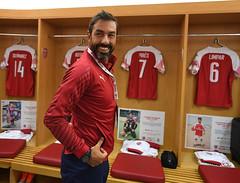 Arsenal Legends v Real Madrid Legends (Stuart MacFarlane) Tags: sport soccer clubsoccer london england unitedkingdom gbr