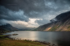 Wast Water (Squareburn) Tags: wastwater lakedistrict lakes longexposure clouds cumbria landscape