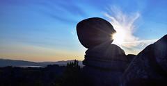 Punto de conexión/ Connetion point ( O Cebreiro 4) (PURIFM) Tags: sunset puestadesol roca rocks paisaje landscape galicia ourense