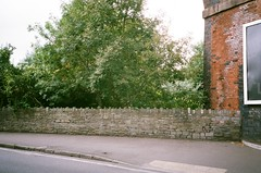 Coombe Brook crosses under Royate Hill, and Royate Hill Viaduct (knautia) Tags: royatehillviaduct bristol england uk september 2018 film ishootfilm olympus xa2 olympusxa2 fuji superia 400iso nxa2roll70