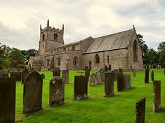 St Peters Alstonfield Peak District Staffordshire (lesleydugmore) Tags: church derbyshire uk england europe britain peakdistrict gravestones tomb roof tower window