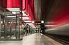 U Bahn Hafencity Universität (schmidtvossloch) Tags: hamburg hafencity nikon beleuchtung ubahnhof verkehr