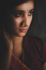 ABS_6230 (abhishek sarkar :D) Tags: red beautiful female portrait artisawoman art sexy strobe studio studiolight studioportraits love exotic