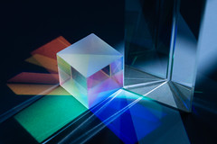 Prism Light Separation (digitalvosem) Tags: digitalvosem glass prism physics experiment codeled parshin