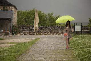 Στη βροχή