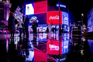 Piccadilly Circus @ Night