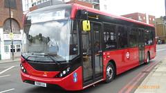 P1130279 1293 YX68 UJL at Mile End Station Burdett Road Mile End London (LJ61 GXN (was LK60 HPJ)) Tags: ctplus hackneycommunitytransportgroup enviro200 enviro200d e200d enviro200mmc enviro200dmmc mmc majormodelchange 109m 10870mm 1293 yx68ujl h29711