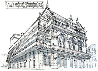 Bruxelles, théâtre royal flamand
