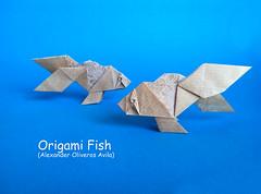 Origami Fish (Alexander Oliveros Avila) (polelena24) Tags: origami fish